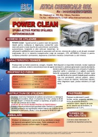 10. ATICA CHEMICALS_FT_POWER CLEAN_Spuma activa spalare  auto